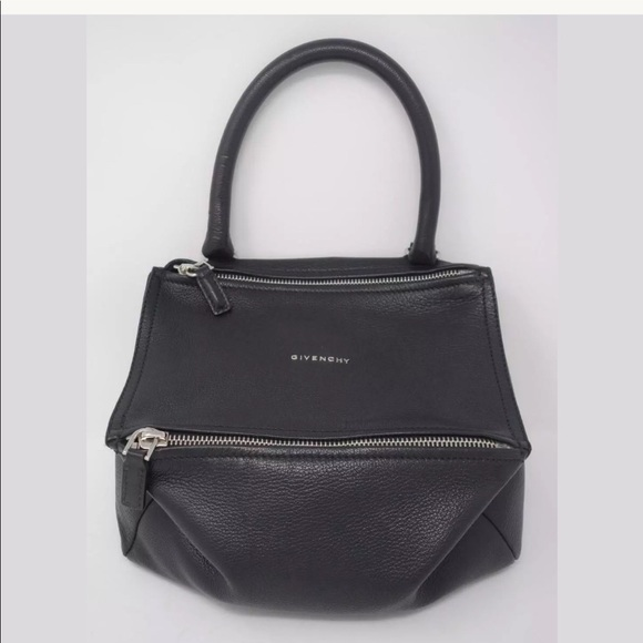 Givenchy Handbags - GIVENCHY Black Leather Small Pandora Crossbody Bag